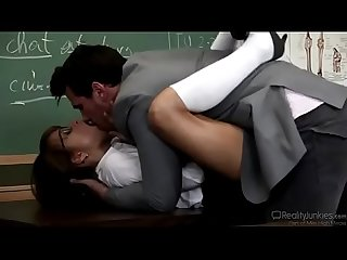 Busty teacher riley reid gets fucked in classroom mobilecams cf