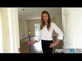 Propertysex house flipping real estate agent fucks her handyman
