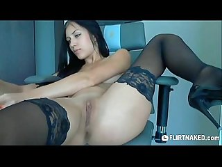 Kate double penetration masturbation