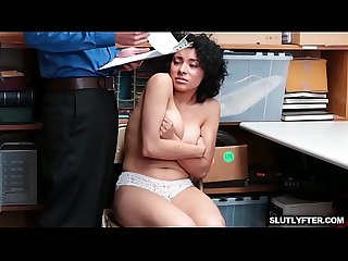 Maya Morena The Shoplifter Feels The Consequences