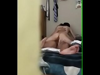Hidden cam my Skinny Girlfriend Rides My Dick Until I Cum on bit.do/camlivesexxx