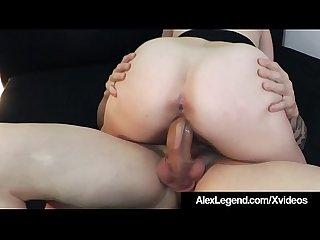 Big french dick alex legend fucks hot brunette sovereign syre
