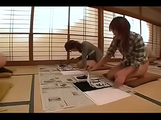 Zenra Japanese Half naked life - A day with alltime bottomless girls (English sub) -..