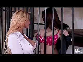 Big titty sluts Lucie Wilde and Kyra Hot - Lesbian playtime