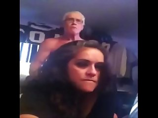 Sexy bbw having sex with her own dad