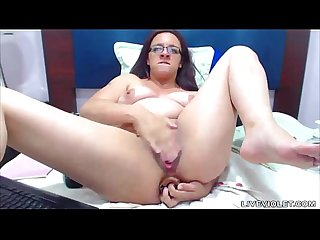 Anal addicted mom nathaly with hairy pits fists both holes