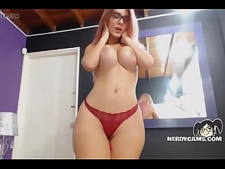 White girl with big ass fucks pussy and anal nerdycams period com