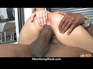 Huge black cock destroys amateur housewife 1