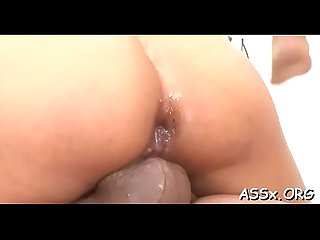 Pleasing japanese is awfully moist from tenacious fucking