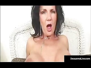 Green Eyed Mature Milf Deauxma Gets A Dick In Her Tight Ass!