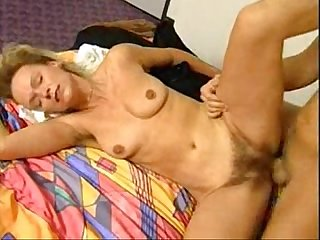 Very hairy german mature blonde casting tryout