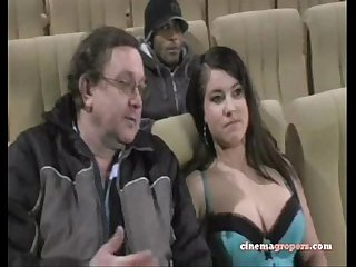Groped in cinema