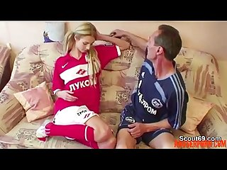 Step-dad Seduce Young Not Step-daughter to Fuck His Big - abuserporn.com