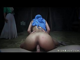 Muslim girl fucks Sneaking in the Base!
