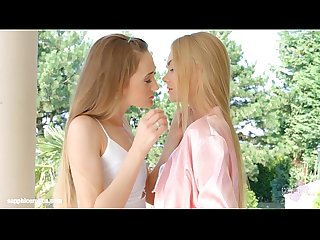 Nancy A and Kira Parvati in Wonderful wakeup lesbians by SapphiX