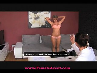 Femaleagent beuatiful blonde nympho