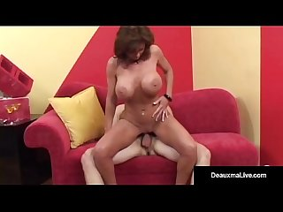 Big busted cougar deauxma gets a big dick in her asshole excl
