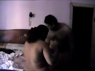 cheating chubby arab hidden camera
