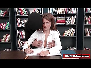 Sexy busty Teachers get fuck by horny Students 13