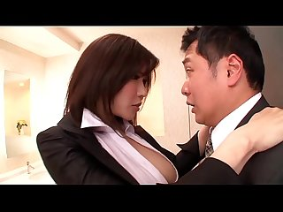 Asian MILF Fucks At The Office