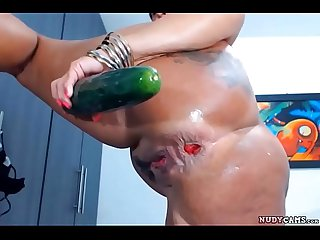 Mature step mom extreme anal again