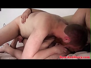 Ginger bear wank cum for mature silver daddy
