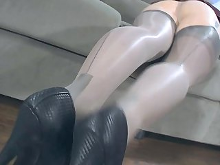 Layered Nylons - www.freecams.ovh
