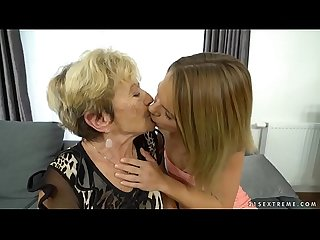 Granny malya and her much younger friend S fresh pussy