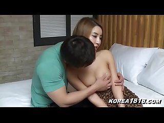 Sexy Korean babe fondled