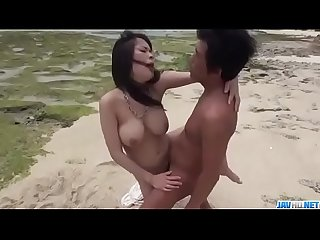 Kyouko maki comma big tits Asian hottie comma enjoys outdoor Sex more at javhd period net
