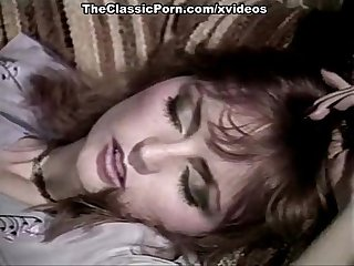 Misty Regan, Beverly Bliss, Pamela Jennings in vintage porn scene
