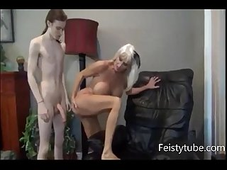 Mother milks sons cock feistytube period com