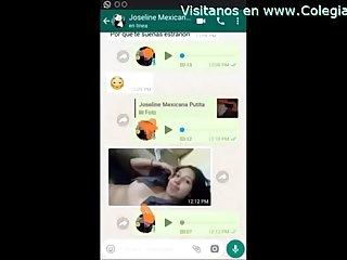 Mi novia me manda videos baandose y masturbandose por whatsapp se viene riquisimo