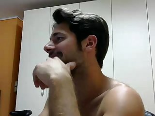 Hot Boy on Webcam