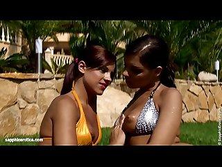 Passionate workout sensual lesbian scene by sapphix