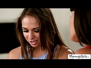 Flawless milf mercedes licks saras sweet pussy by her hard tongue