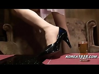 Korea1818 com hot Korean bar girl fucked