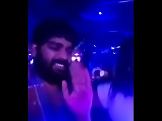 Swathi naidu enjoying and dancing in pub part-1
