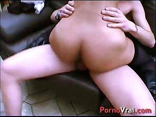 Beurette fait un porno en cachette de son copain french amateur