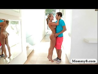 Busty stepmom brandi love hot ffm 3way with teen natalia