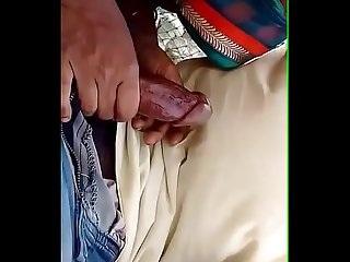 Indian girlfriend blowjob at beach