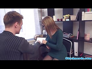 Euro spex student fucked after bj