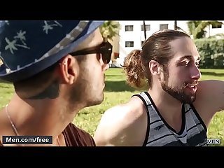 Men.com - (Diego Sans, Roman Cage) - Drill My Hole - Trailer preview