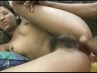 First-time anal with indian sister