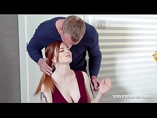Private com gorgeous redhead carly rae fucks at breakfast