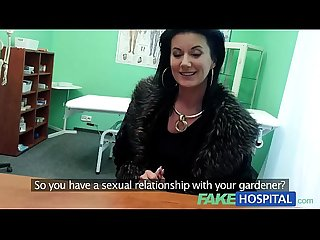 Fakehospital smart Mature sexy Milf has A Sex confession to make