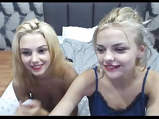 Sisters teens do webcam show visit freshteenscams com