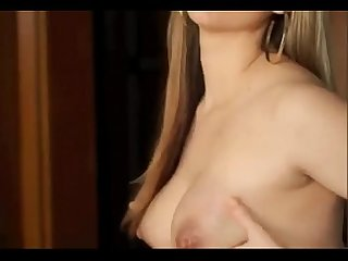 MARILYN LACTATING BLONDE & double anal milk