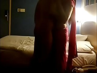 Desi Indian in hotel