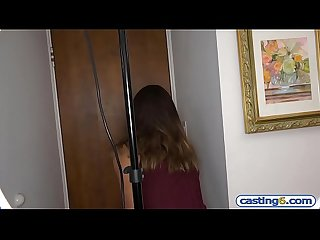 Dutch latina teen amateur fucks for 10k dollars at a casting